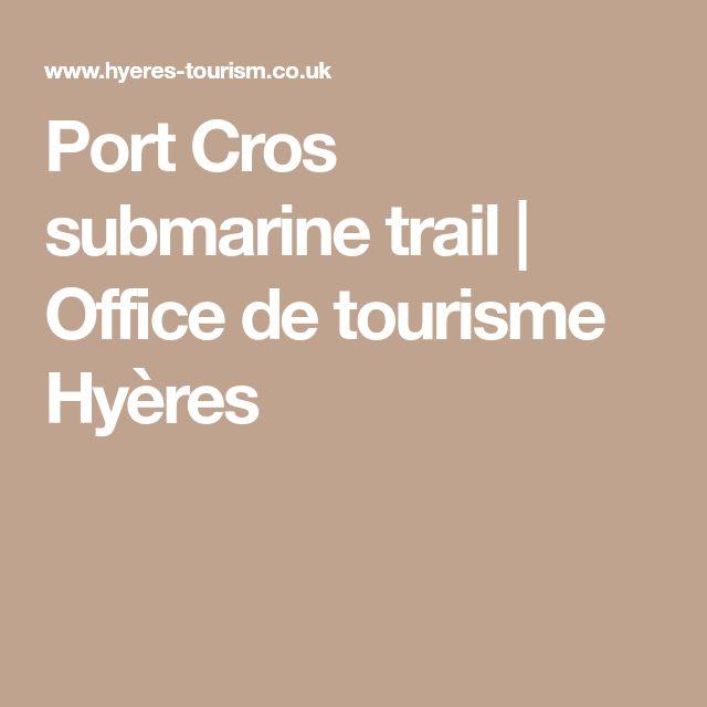 Port Cros submarine trail | Office de tourisme Hyères