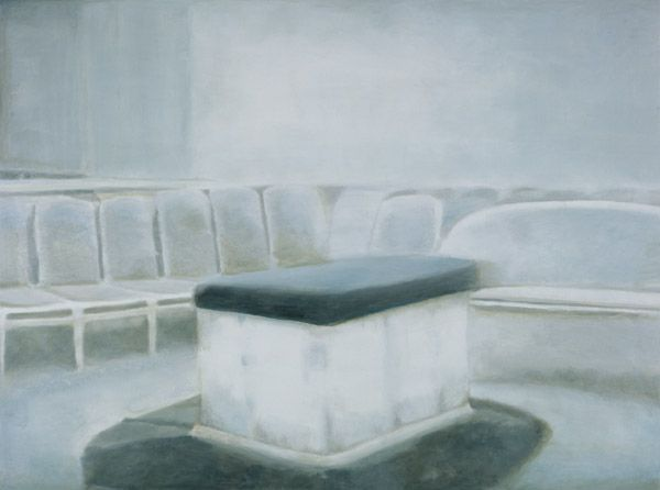Altar, 2002 by Luc Tuymans. New European Painting. interior