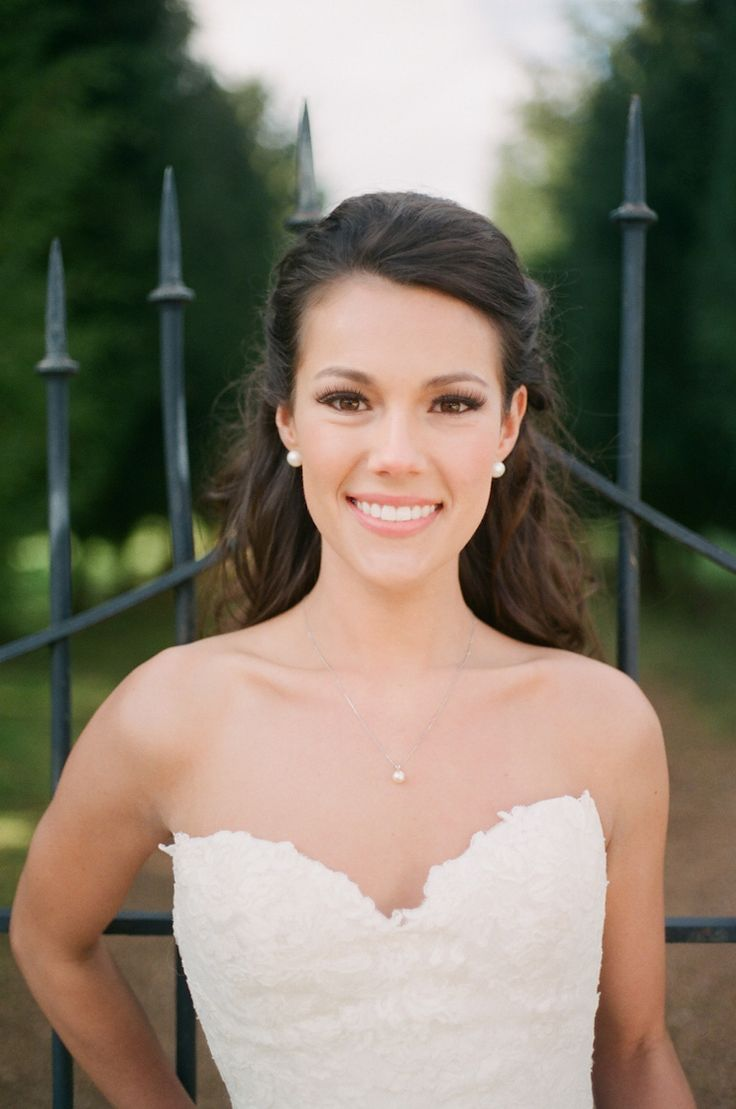 30 gorgeous wedding makeup looks mon cheri bridals - Natural Make Up For Your Wedding Day Ideas