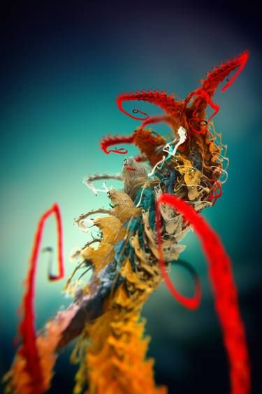 "Saatchi Art Artist Vaclav Pajkrt; New Media, ""Microplants Metasefolia no.2"" #art"