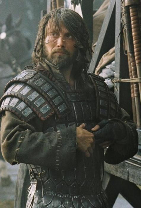 Leargril the Fourth, chieftain of the Brishil, the river barbarians