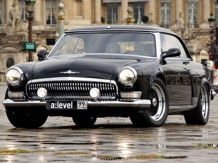 1956 Volga V12 Custom. This coupe takes a BMW 850CSi