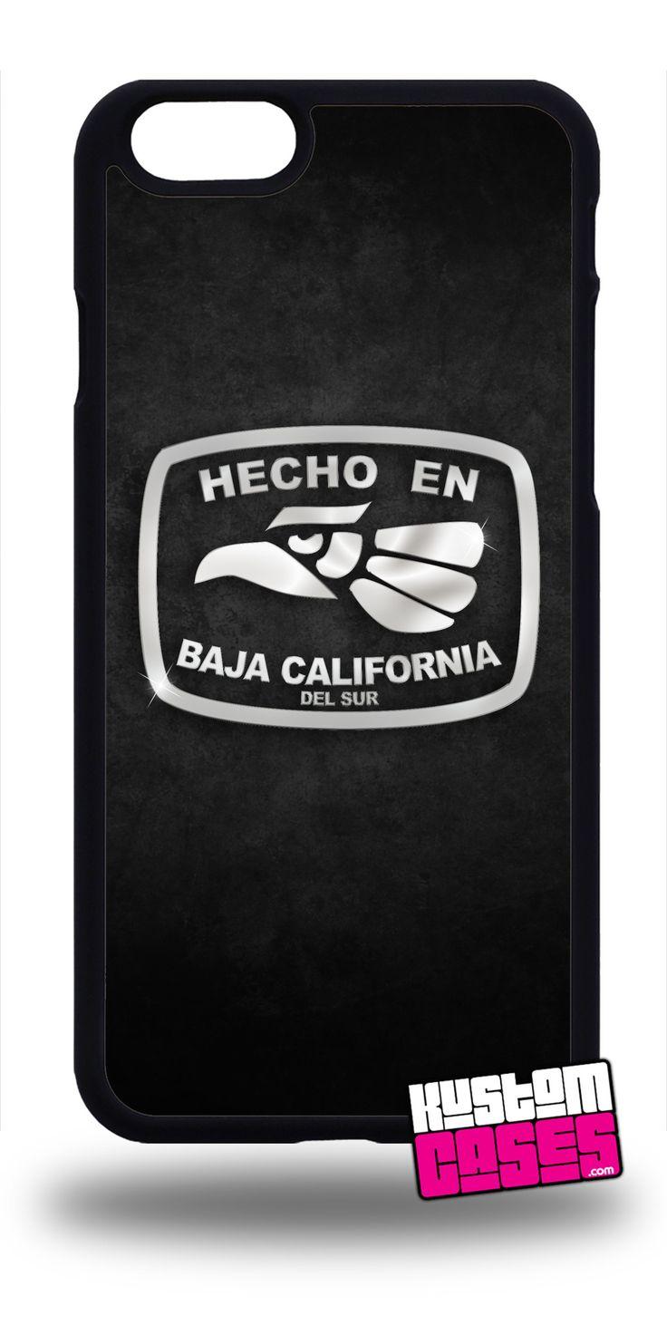 Hecho En Baja California Del Sur - Cell Phone Case