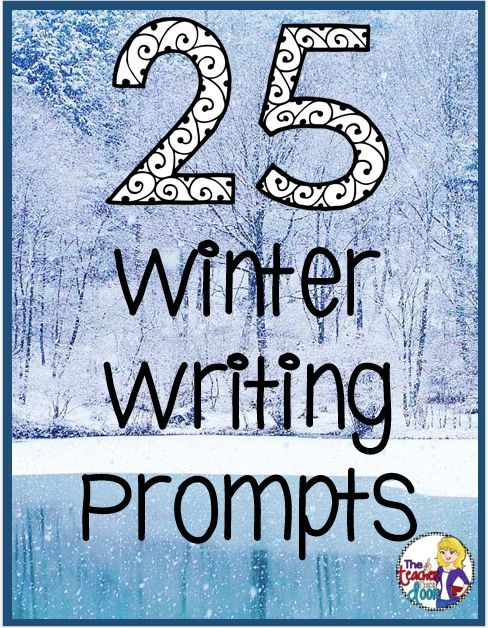 This post has fun winter prompts to help your kids write creatively. Can be used as a whole class activity, for writing journals, in writing centers, or even as homework.