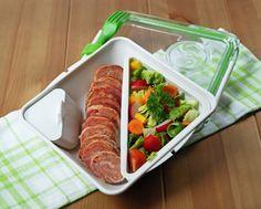 Moha Konyha: Bento box - bento doboz 20: fasírt szalonnaköpenyben salátával