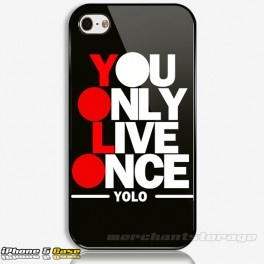 You Only Live Once YOLO Drake mmg YMCMB Custom iPhone 5 Hard Case Cover