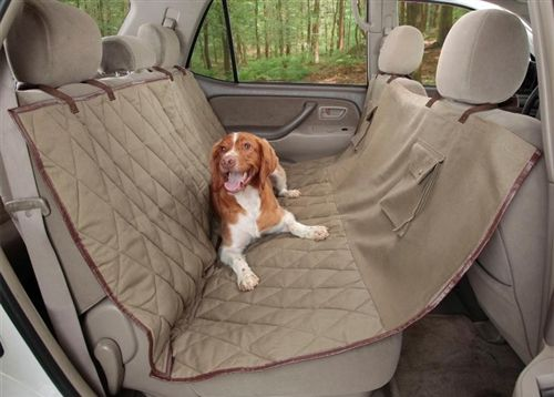 Waterproof Hammock Style Seat Cover- Travel  Safety - Car Accessories Posh Puppy Boutique