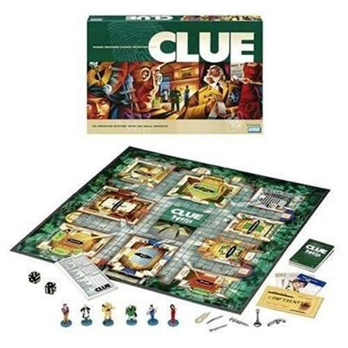 Clue- Colonel Mustard in the dining room with a rope!