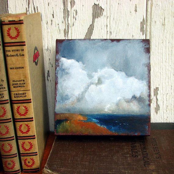 mini cloud paintingOil Painting