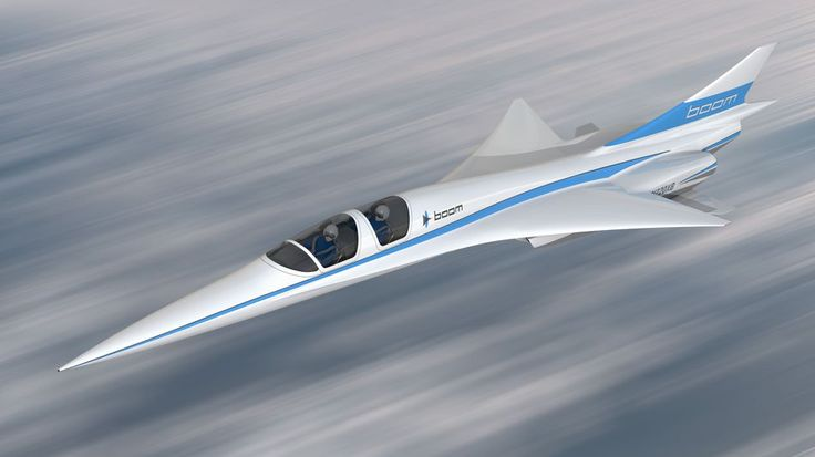 Rendering of Boom's XB-1 prototype.