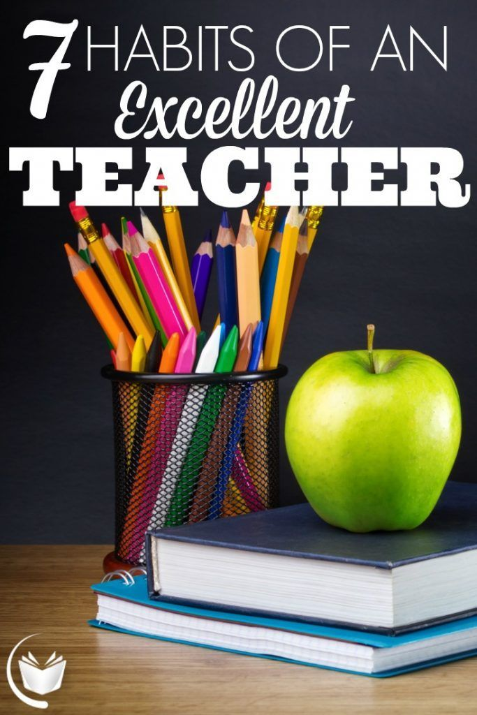 Whether you're a college professor or a high school teacher, there is plenty here to work on as you reach your mid-semester stride. Here are 7 habits of an excellent teacher.