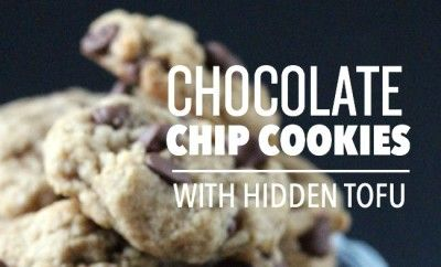 Chocolate Chip Cookies with Hidden Tofu