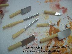 MaliMin Mis Miniaturas :): Tutorial for knives