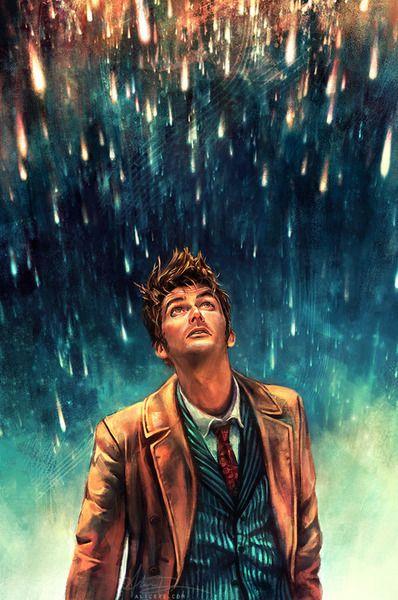 Doctor Who fan art - 10th Doctor