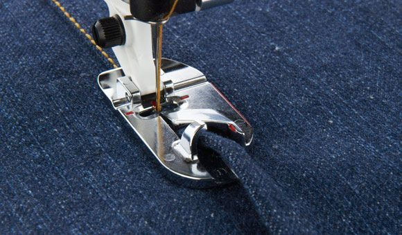 La costura doble de los vaqueros / Felled seams of jeans | mil dedales