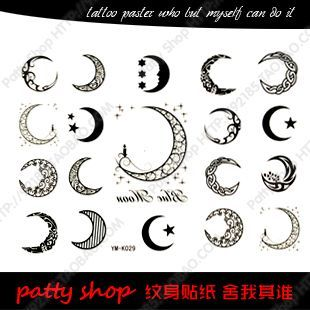 32 best tattoo images on pinterest small tattoo small for Small moon and star tattoo
