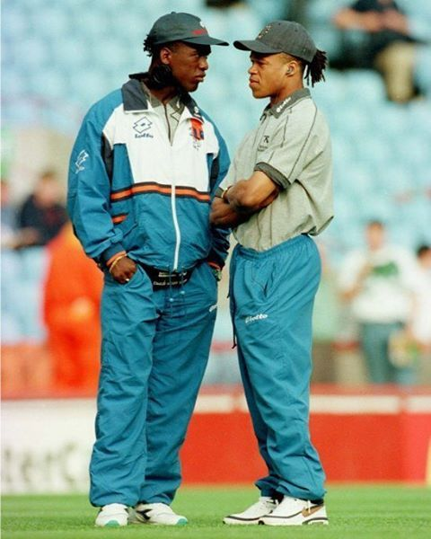 Clarence Seedorf and Edgar Davids
