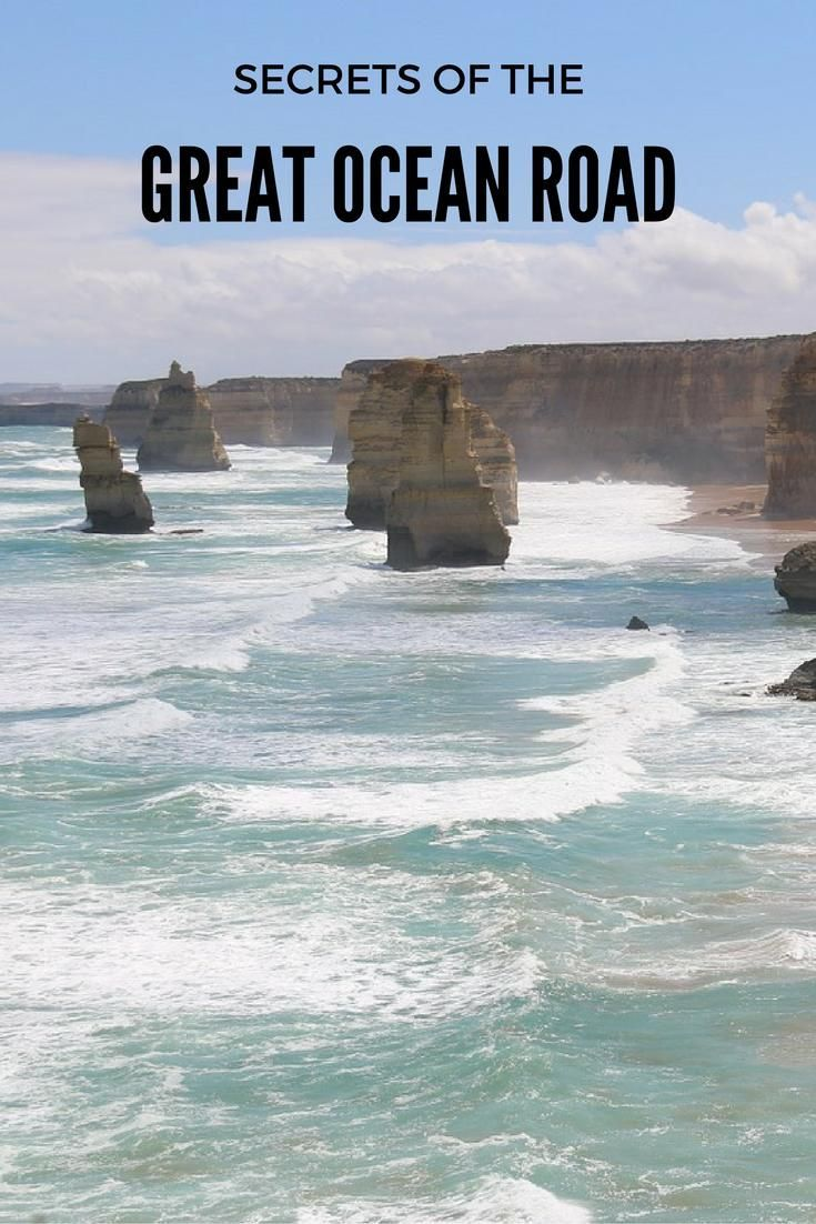Great Ocean Road   Australia Follow in the footsteps of locals along the Great Ocean Road and discover the lesser known highlights of this famous scenic drive. Your roadtrip along the coast will include waterfalls, remote beaches, delicious seafood and insight into local Koori culture