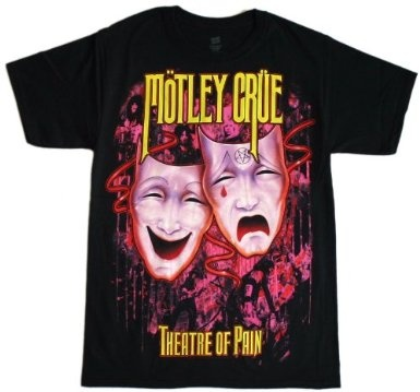Motley Crue - Theatre of Pain T-Shirt: Amazon.com: Clothing: Pain T Shirts, Motley Crue