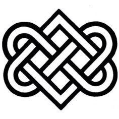 Irish Celtic Symbol For Eternal Friendship Irish Eternal Love Symbol