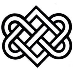 Irish Celtic Symbol For Eternal Friendship Irish Eternal Love Symbol