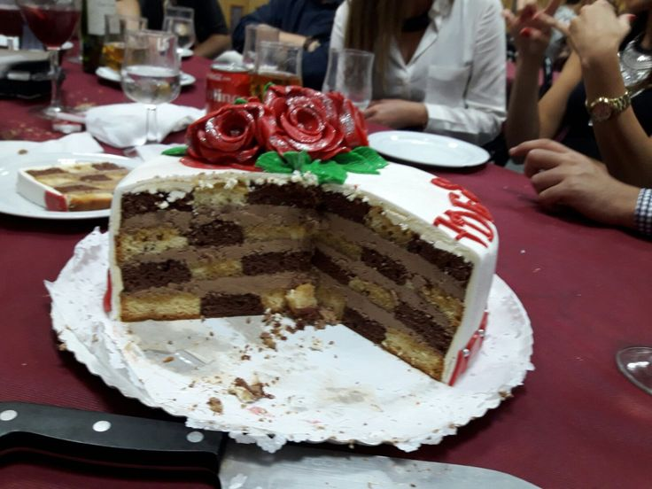 Tarta tabla ajedrez