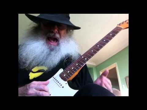 Guitar Lesson - How to play the blues in open D tuning - YouTube