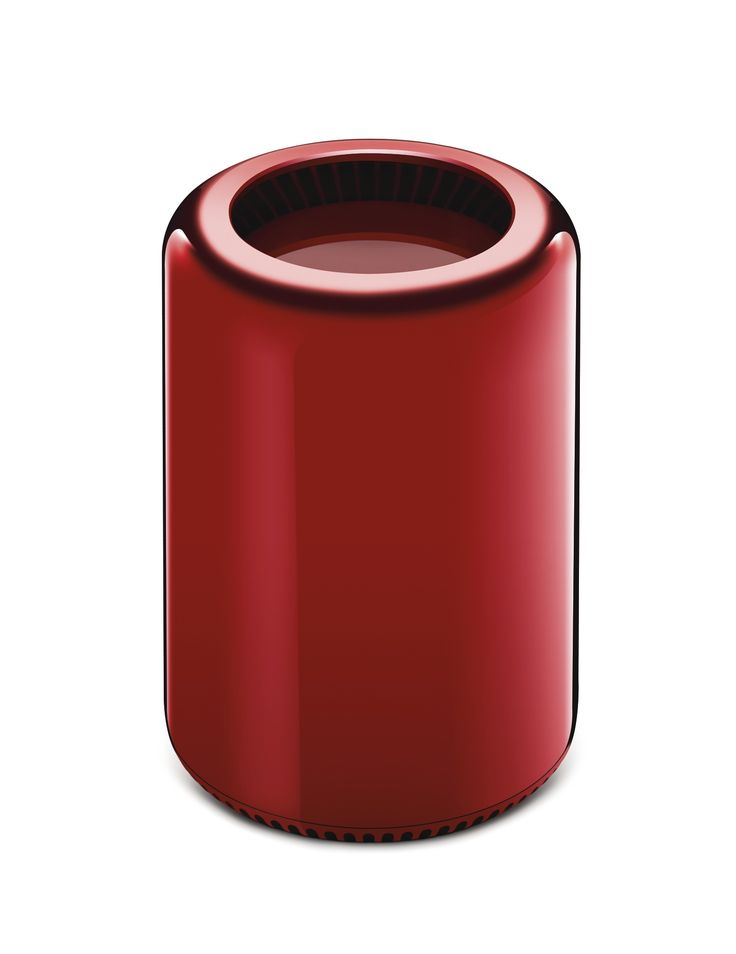 MAC PRO: Selected and customised by Jony Ive and Marc Newson for the (RED) Auction 2013. Edition 01/01.