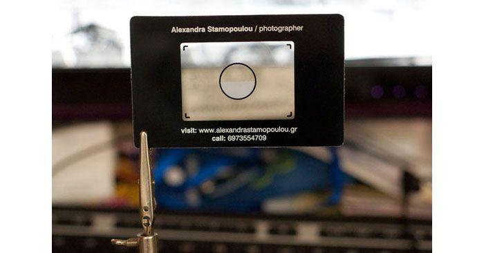 15 asombrosas tarjetas de presentación sobre fotografía : Vida MRR, blog de diseño web