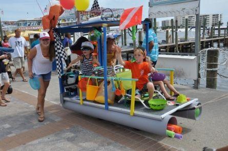 wagon float ideas