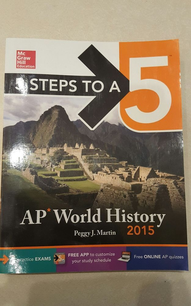 5 Steps to a 5 on the Advanced Placement Examinations: AP World History by Pegg… | Books, Textbooks, Education | eBay!