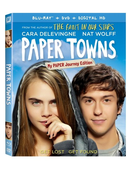 The Paper Towns My PAPER Journey Edition comes with collectible packaging and lots of bonus features! Check it out and enter to win your own! #sp #PaperTownsInsider