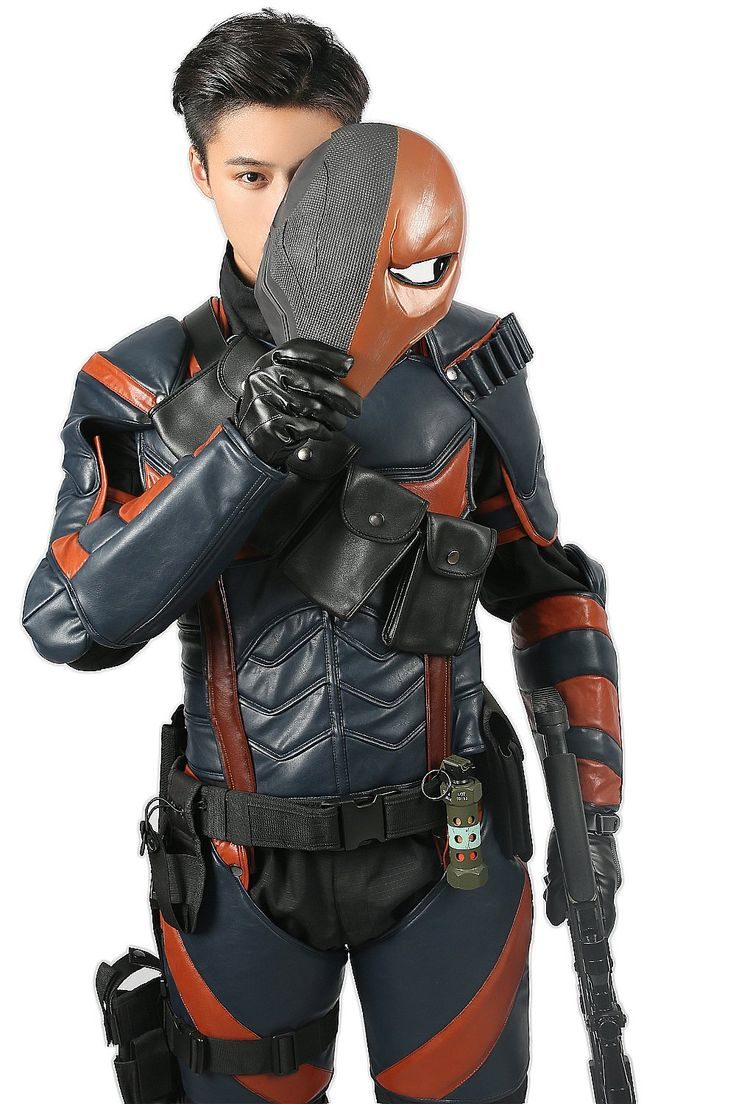 Batman Arkham Knight Deathstroke Costume Armor Cosplay Hero Outfit Suit Mens Adult Size XCOSER