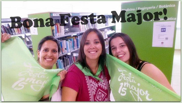 Us desitjem Bona #FestaMajor de @savilamajor! #mocadorsolidari #selfie #vilamajor
