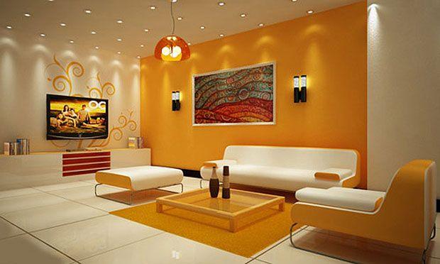 pintura de salas modernas y lindos