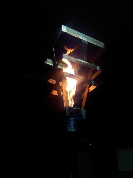 New burner