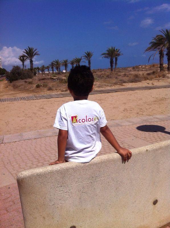 Playa de Gandia en Valencia
