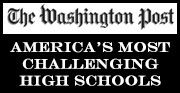 """The Washington Post has, once again, ranked Herron High School in the top 5% of all the public high schools in the nation.  Herron High School is ranked #224 out of 2,025 schools nationwide that qualified for the Washington Post's annual """"America's Most Challenging High Schools"""" index."""