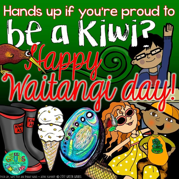Hands up of you're proud to be a kiwi? Happy Waitangi Day!