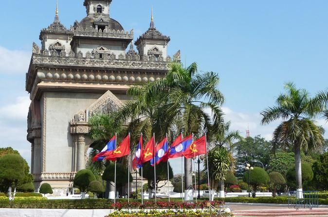 """Guided Vientiane City and Buddha Park Full-Day Tour Enjoy a guided tour to discover the hidden charms of Vientiane, meaning """"the city of sandal wood"""". Vientiane is one of the quietest capital cities in the world, different from most of the bustle and hustle Asian capitals. Visit the famous Buddha Park, also known as Xieng Khuan, with over 200 Buddhist and Hindu statues. Also stop by the Wat Sisaket, Wat Phra Keo, Wat Simuang and more.You will be picked up at your hotel in Vien..."""