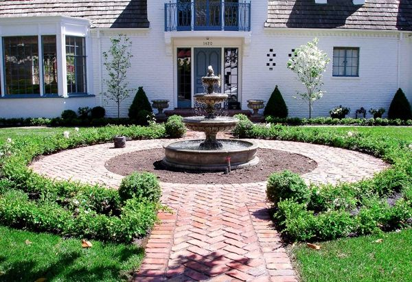 22 best images about fountains on pinterest garden for Front garden features