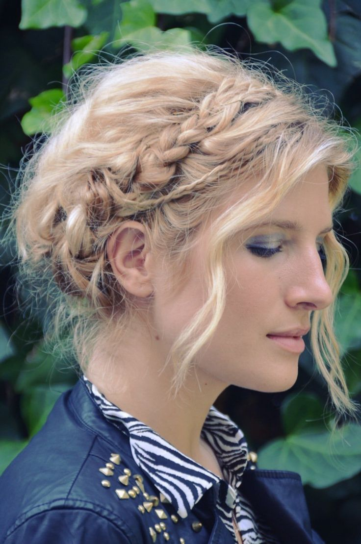 Mr. Kate | DIY swiss braids braid crown hair tutorial