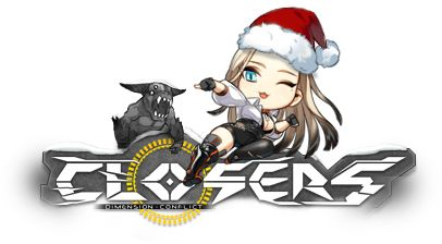 Closers Online Logo Harpy Crhistmas