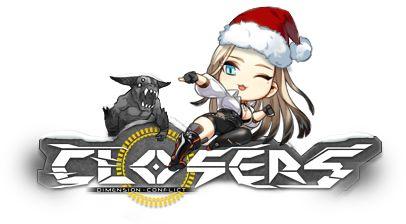 Closers Online Logo Harpy Crhistmas