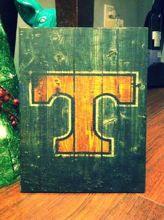 Tennessee VOLS rustic wooden sign on Etsy, $35.00