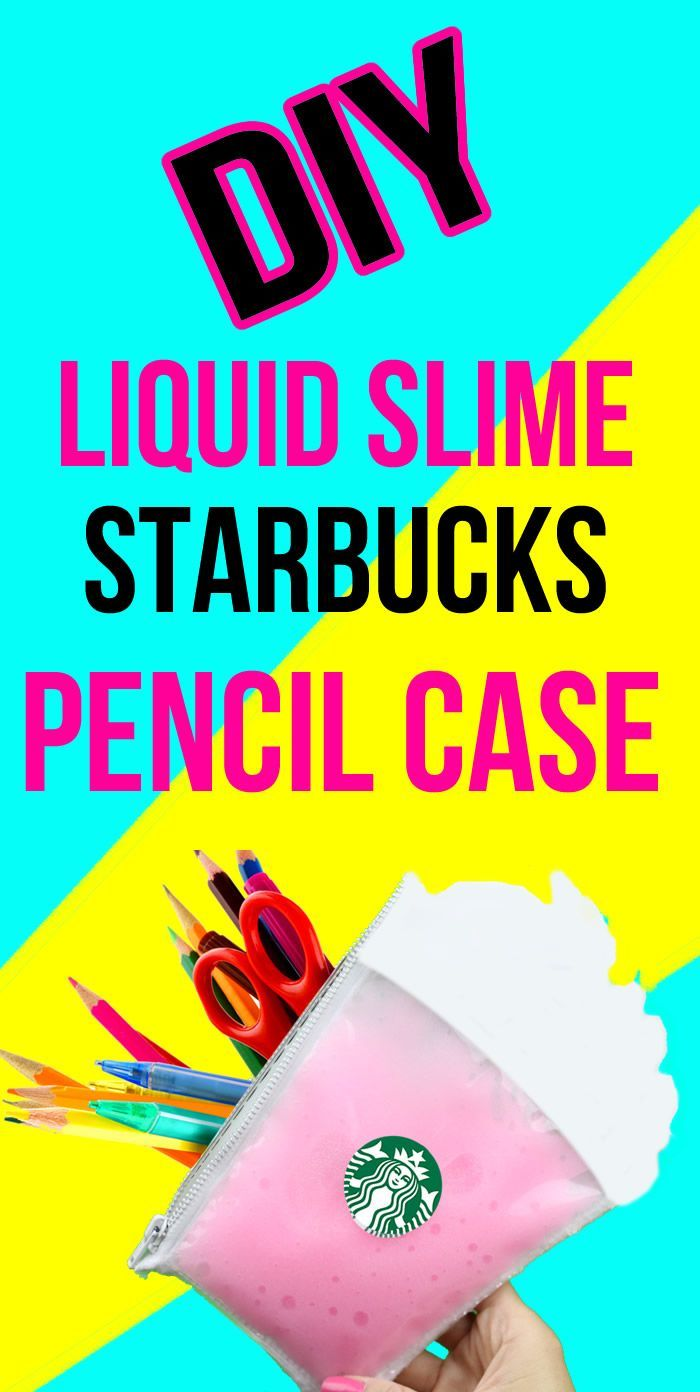 Learn how to make DIY LIQUID SLIME Starbucks Pencil Case! DIY School Supply Project! These diy liquid slime pencil cases are so easy to make and very unique! Go back to school in style with this one of a kind pencil case. I hope you enjoy this fun and cool back to school diy project.