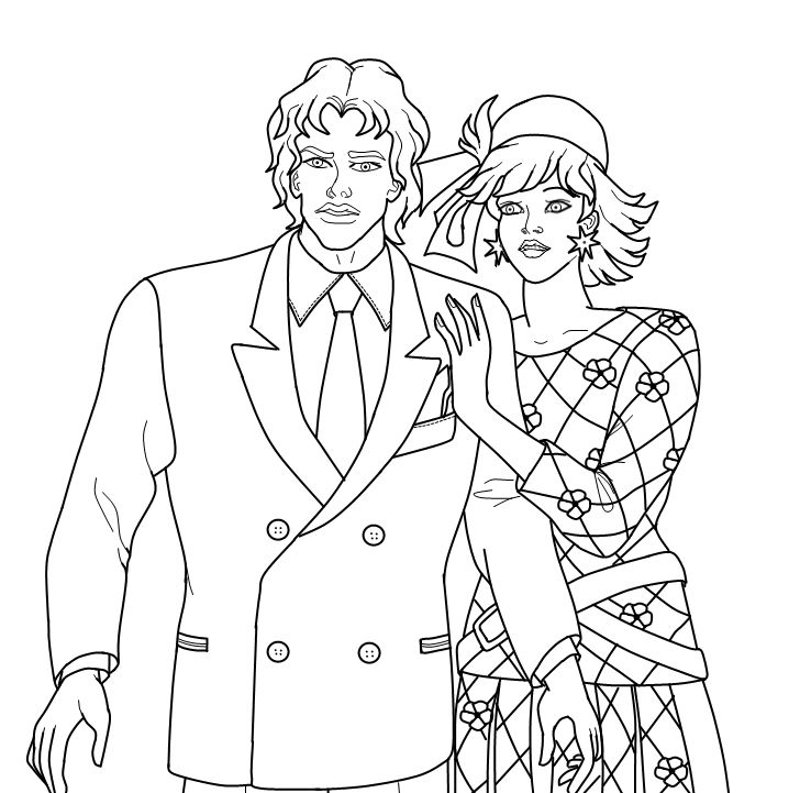 jem coloring pages | 33 best images about Crafty (80's Jem) Coloring on Pinterest