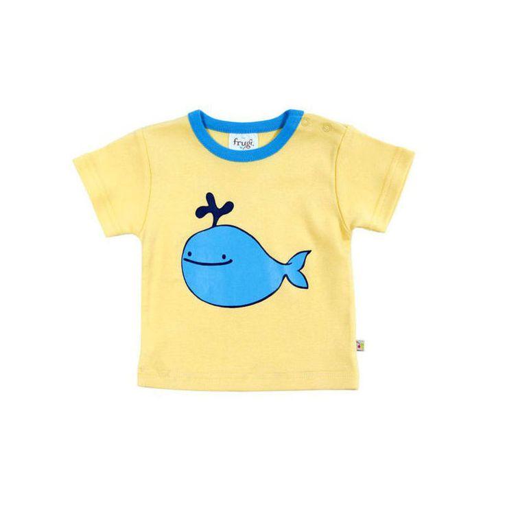 Frugi Κοντομάνικη Μπλούζα Φάλαινα - Sunnyside