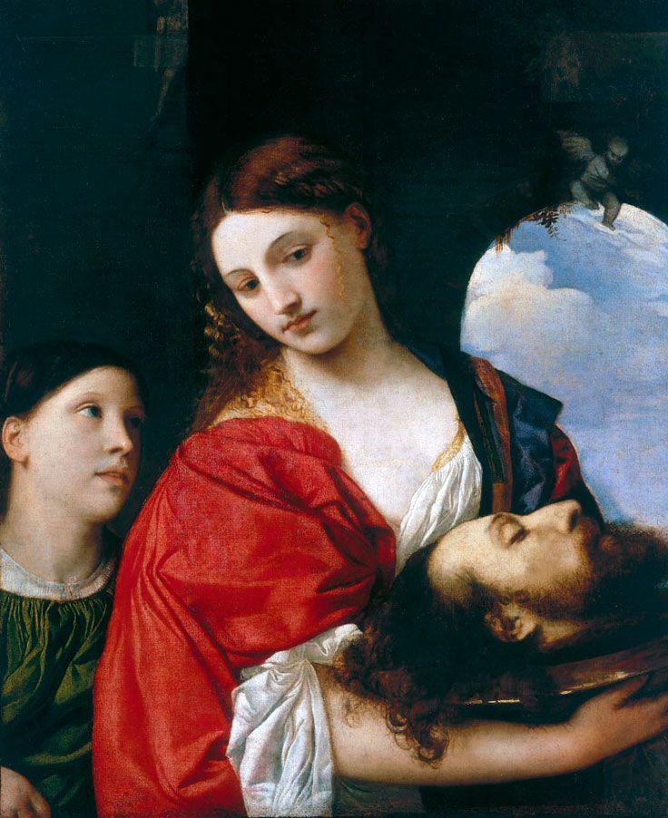 Tiziano Vecellio • Salomè con la testa del Battista, ca.1515