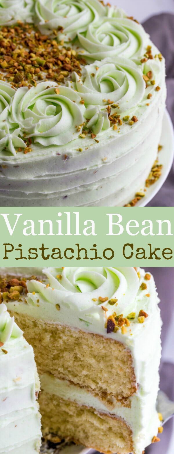 Light, airy and full of flavor this Vanilla Bean Pistachio Cake is a fun and tasty flavor combination perfect for absolutely any occasion.  So last-minute, my mom called me and asked if I had any plans for baking the next day. I did, but nothing that was in dire need[Read more]